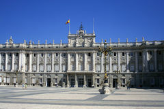 Royal palace Royalty Free Stock Photography