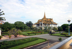Royal Palace. The Royal Palace in Cambodia's capitial Stock Image