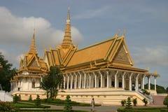 Royal palace. Throne hall at the royal palace in phnom penh Stock Photo