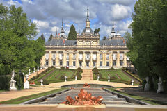 Royal  Palace of the 17th century Royalty Free Stock Images