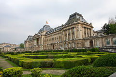 Royal Palace. The Royal Palace in Brussels, the residence of the Belgian monarch Royalty Free Stock Image