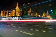 Royal Palace. At night. Bangkok, Thailand Stock Photo