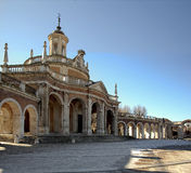 The royal palace. In the city of Aranjues, Spain Royalty Free Stock Photography