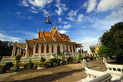 Royal Palace. A royal palace at Phnom Penh in combodia Stock Images