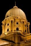 Royal Palace abobada em Budapest imagem de stock royalty free