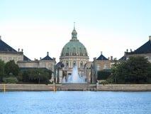 Royal palace Amalienborg, cathedral Denmark Stock Photo