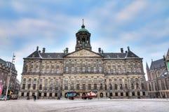 Royal Palace Amsterdão Fotografia de Stock Royalty Free