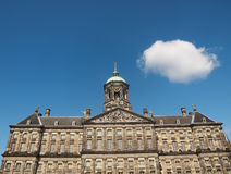 Royal palace of Amsterdam Stock Image