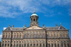 The Royal Palace of Amsterdam Royalty Free Stock Photo