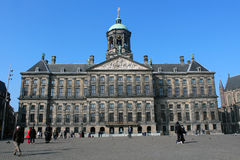The Royal Palace in Amsterdam Stock Image