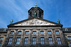 Royal Palace in Amsterdam Royalty Free Stock Image