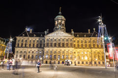 Royal Palace Amsterdam Stock Photos