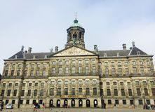 Royal Palace Amsterdam Photographie stock