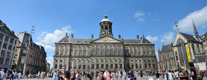 The Royal Palace - Amsterdam Royalty Free Stock Photography