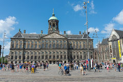 The Royal Palace - Amsterdam Royalty Free Stock Photo