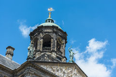 Royal Palace in Amsterdam, die Niederlande Stockbilder