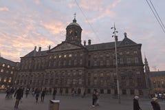 Royal Palace Amsterdam Royalty Free Stock Image
