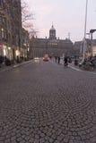 Royal Palace Amsterdam Stock Photography