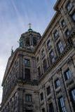 Royal Palace Amsterdam, Nederländerna arkivfoto