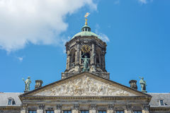 Royal Palace in Amsterdam, Nederland Stock Foto