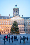 The royal palace of Amsterdam Royalty Free Stock Photos