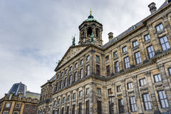 Royal Palace in Amsterdam, Netherlands Stock Images