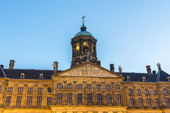 Royal Palace in Amsterdam, Netherlands Stock Photos