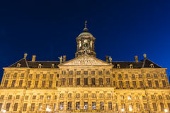 Royal Palace in Amsterdam, Netherlands Stock Photo