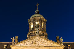 Royal Palace in Amsterdam, Netherlands Royalty Free Stock Image