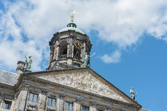 Royal Palace in Amsterdam, Netherlands Royalty Free Stock Images