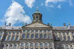 Royal Palace in Amsterdam, Netherlands Royalty Free Stock Photos