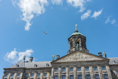Royal Palace in Amsterdam, Netherlands Royalty Free Stock Photo
