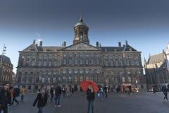 Royal Palace Amsterdam Royalty Free Stock Photo