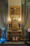 Royal Palace a Amsterdam si rispecchia Fotografia Stock