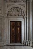 Royal Palace in Amsterdam-Türen Stockbild