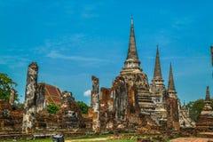 Royal Palace antigo em Ayutthaya Tailândia Imagem de Stock