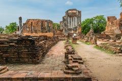 Royal Palace antigo em Ayutthaya Tailândia Foto de Stock