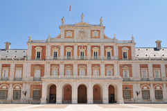 Royal Palace of Aranjuez. The Royal Palace of Aranjuez (Spanish: Palacio Real de Aranjuez) is a residence of the King of Spain Royalty Free Stock Photography