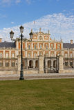 Royal Palace of Aranjuez. Spain Royalty Free Stock Image
