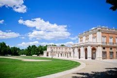 Royal Palace of Aranjuez. The Royal Palace of Aranjuez (Spanish: Palacio Real de Aranjuez) is a residence of the King of Spain Stock Photo