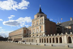 Royal Palace Aranjuez Fotografia Royalty Free