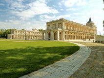 Royal Palace of Aranjuez. In a beautiful day Royalty Free Stock Photography