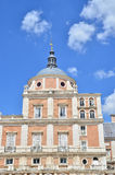 The Royal Palace of Aranjuez(detail). The Royal Palace of Aranjuez, one of the Spanish royal sites, located in the town of Aranjuez, Community of Madrid, Spain Royalty Free Stock Image