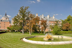 The Royal Palace of Aranjuez, Madrid. (Spain Stock Photography