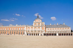 The Royal Palace of Aranjuez. Madrid. (Spain Royalty Free Stock Images