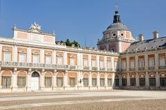 The Royal Palace of Aranjuez. Madrid. (Spain Royalty Free Stock Photos