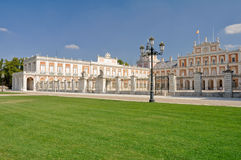 The Royal Palace of Aranjuez. Madrid Stock Photos