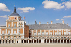 The Royal Palace of Aranjuez, Madrid. (Spain Royalty Free Stock Images