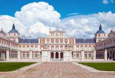 Royal Palace of Aranjuez. In Madrid Stock Photography