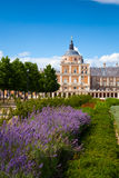 Royal Palace of Aranjuez, Madrid. Royal Palace of Aranjuez and Gardens in Madrid, Spain Royalty Free Stock Photo